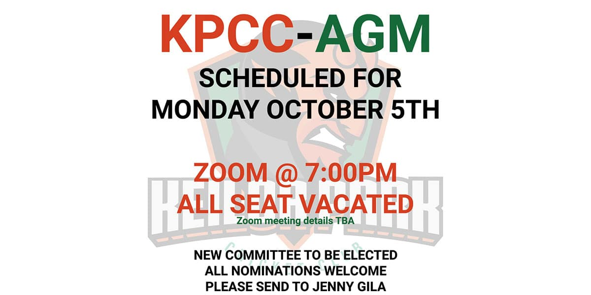 Great News – AGM OCTOBER 2020