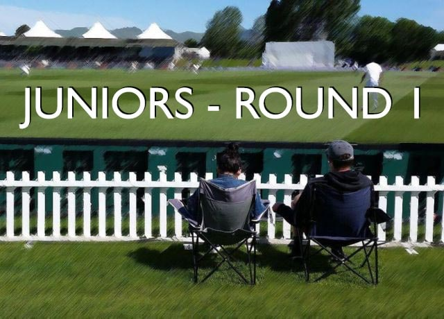 Juniors – Round One!